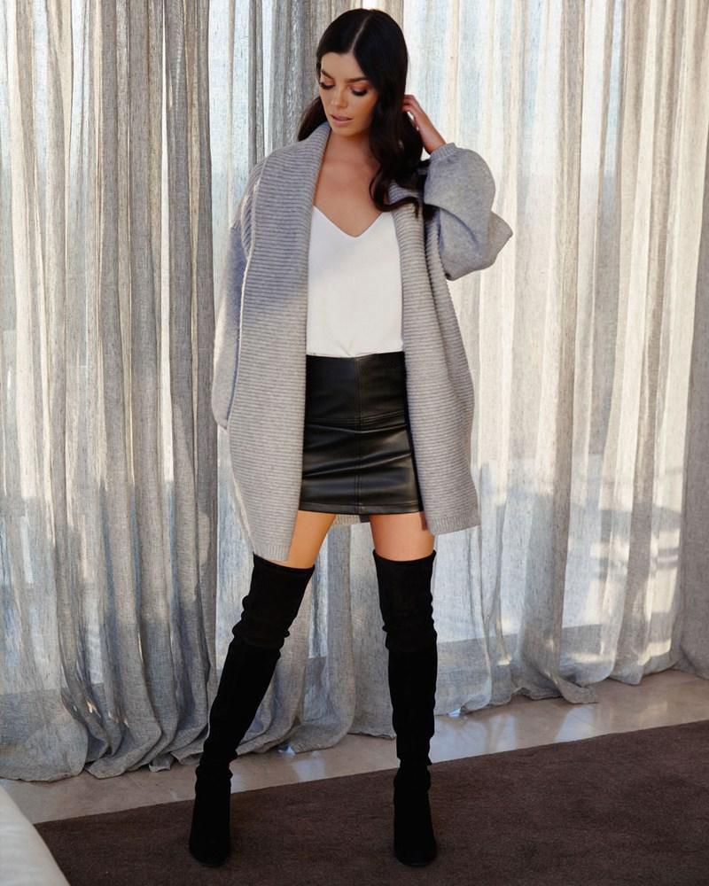 Dannie Knit | Grey