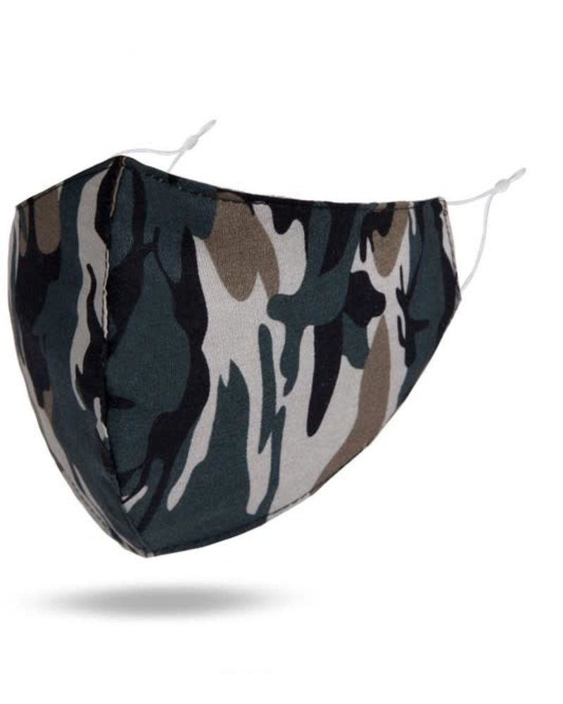 Reusable Cotton Face Mask | Camo