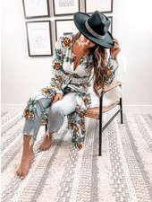 Sophia Kimono Dress | Ivory
