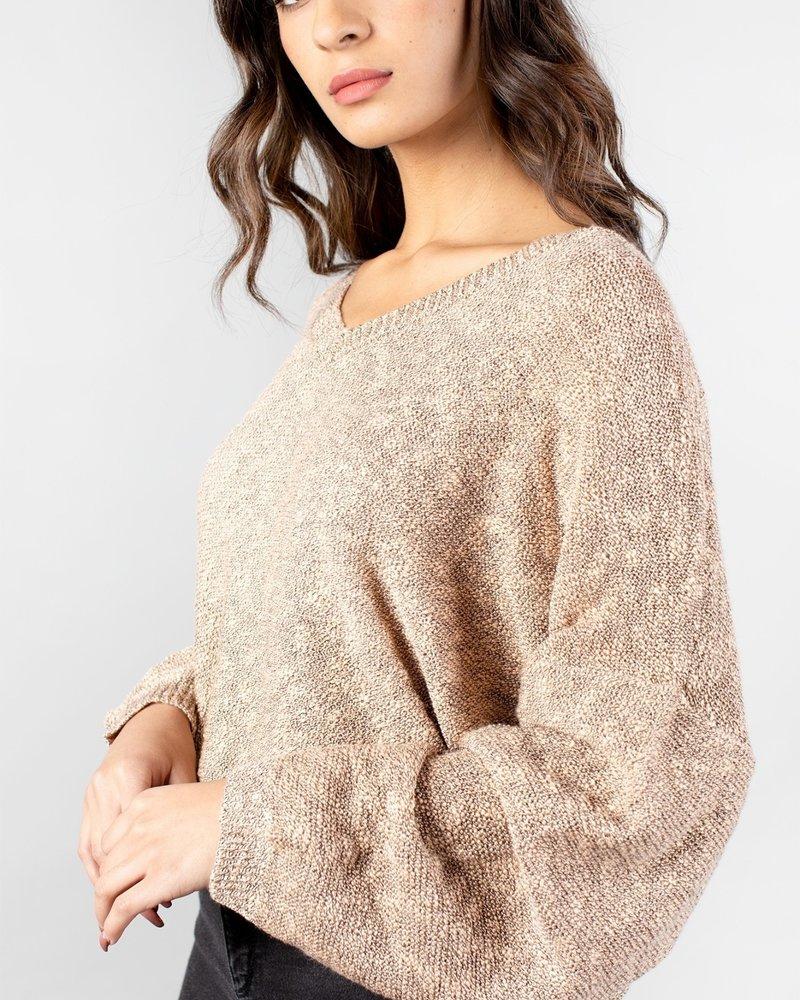 Cameron Sweater | Dusty Peach