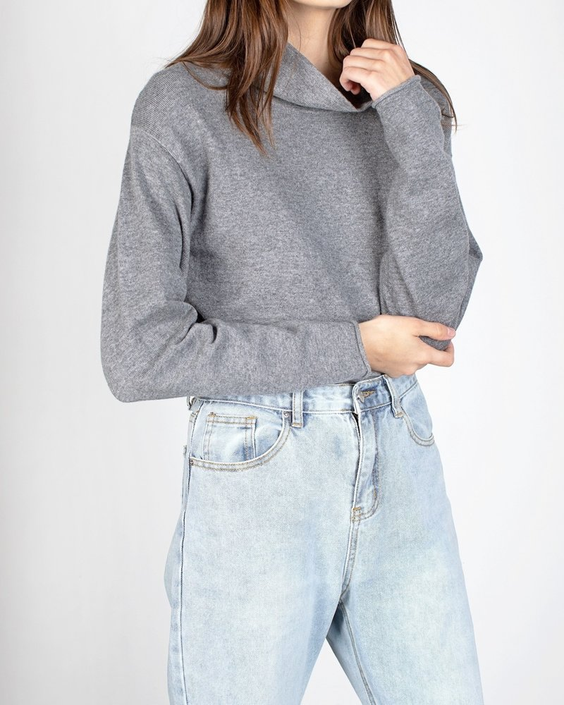 Holland Top | Charcoal