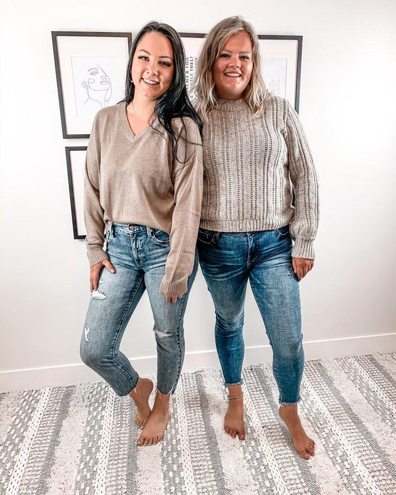 Mariah Volume Sleeve Sweater