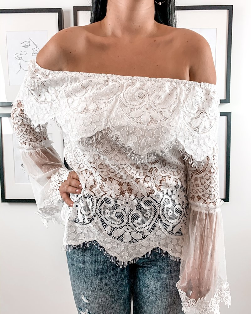 Gypsy Top | White