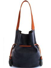 Bucket Shoulder Bag   Black