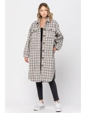 CALISTA Lumberjack Coat | Grey