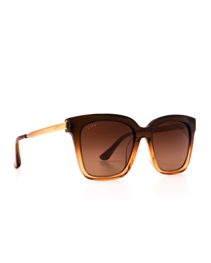 DIFF Bella | Crystal Brown Gradient Polarized