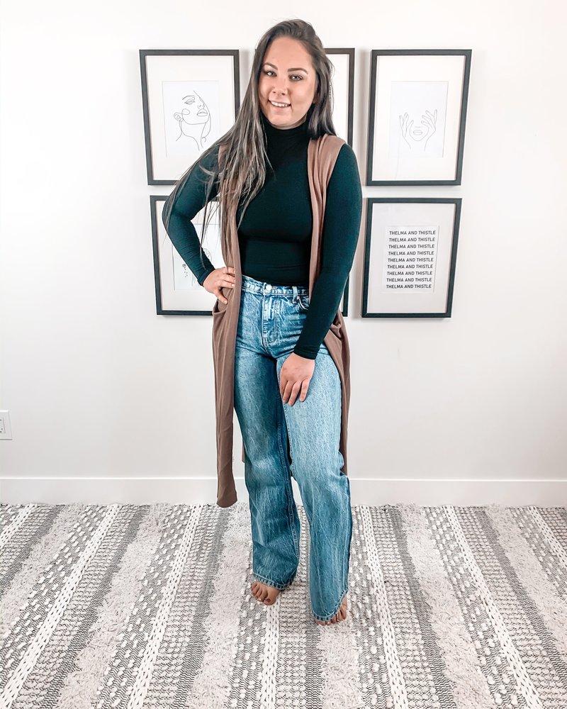 Stella Vest | Mocha