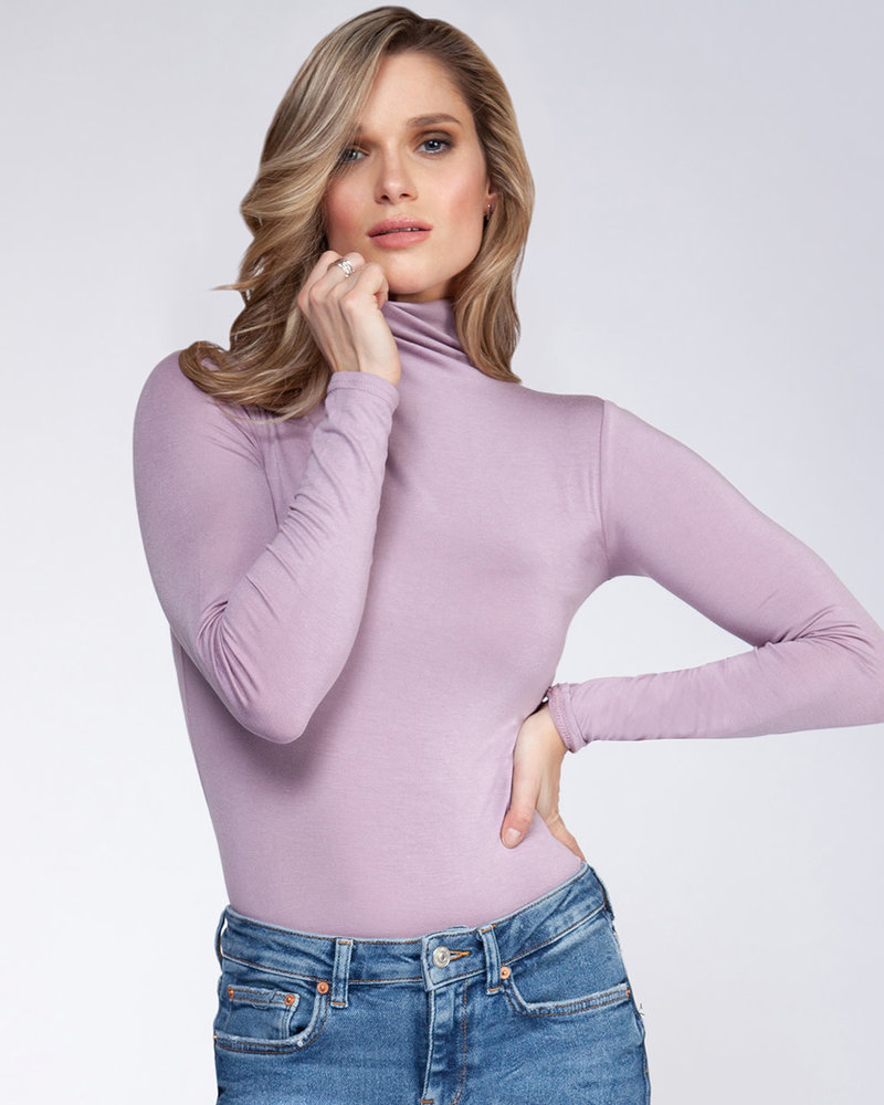 Powder Purple Turtleneck