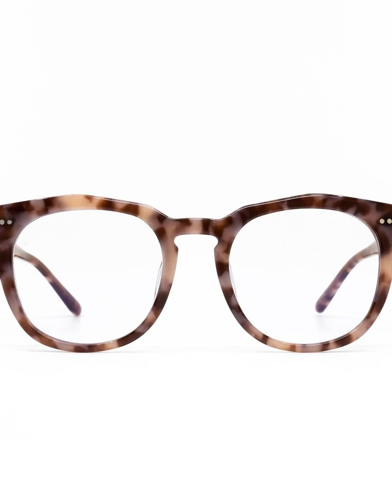 DIFF Weston | Plum Tortoise Blue Light Technology Clear