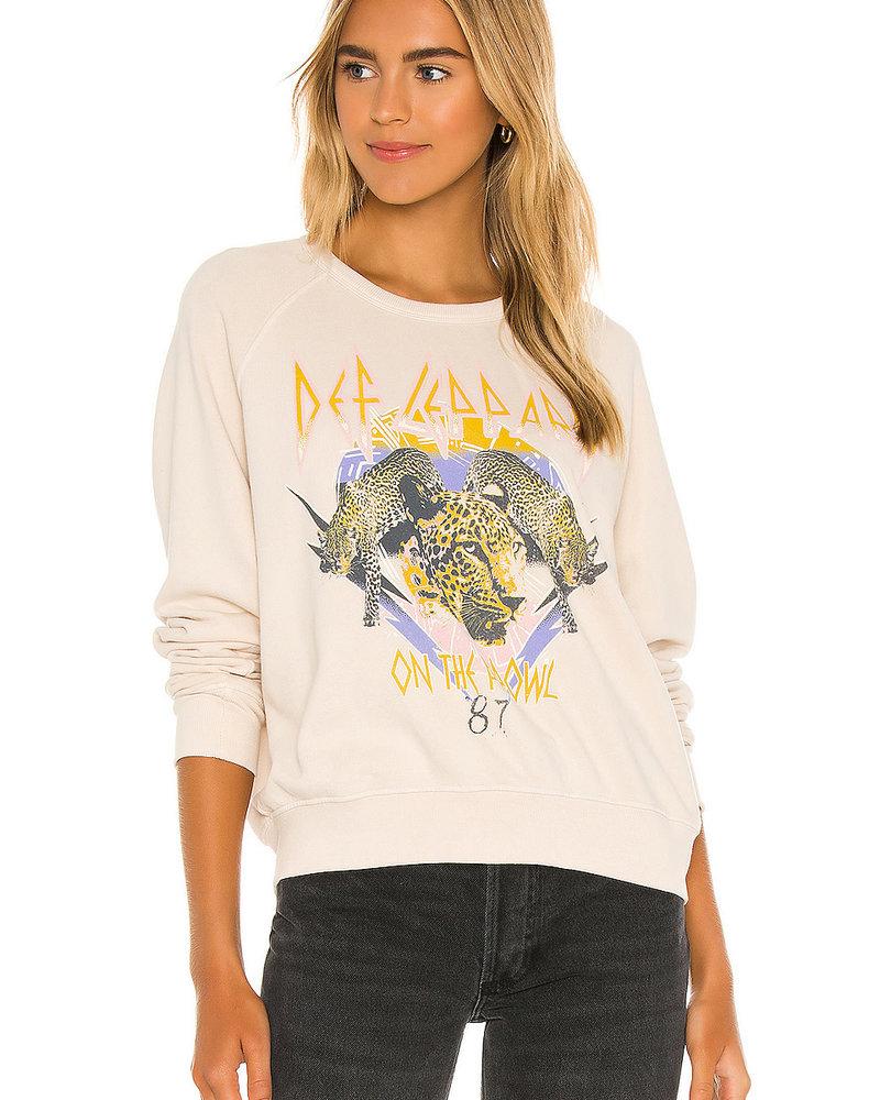 Def Leppard On The Prowl Varsity Crew Sweatshirt