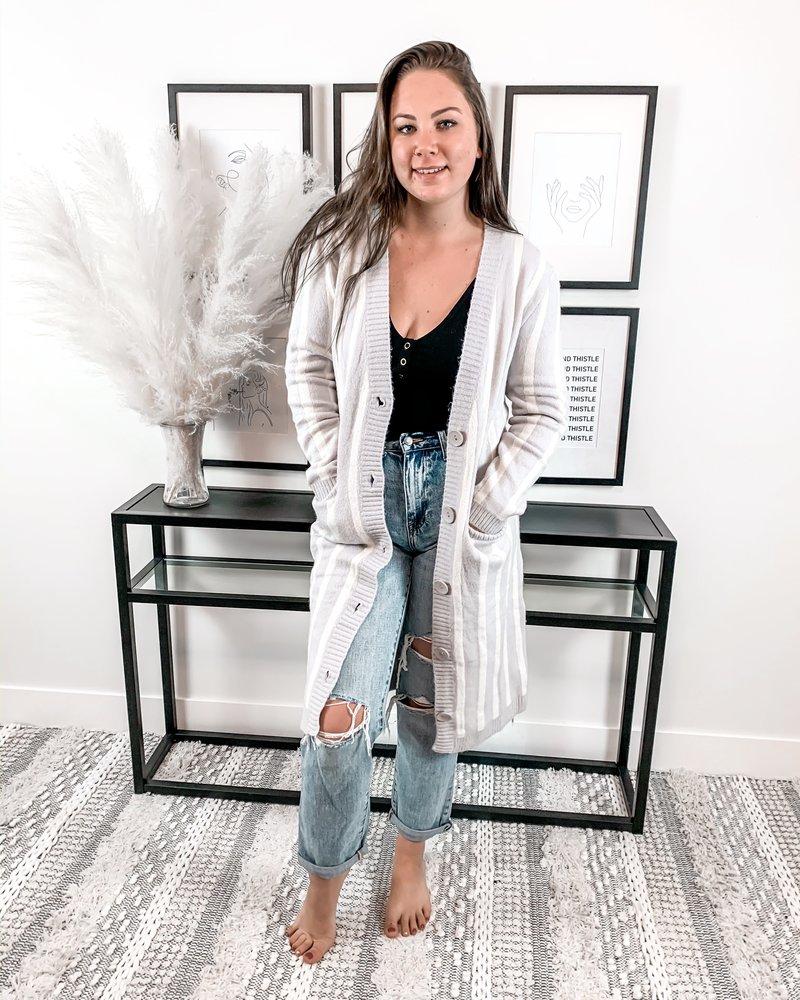 Chloe Cardigan | Lavender