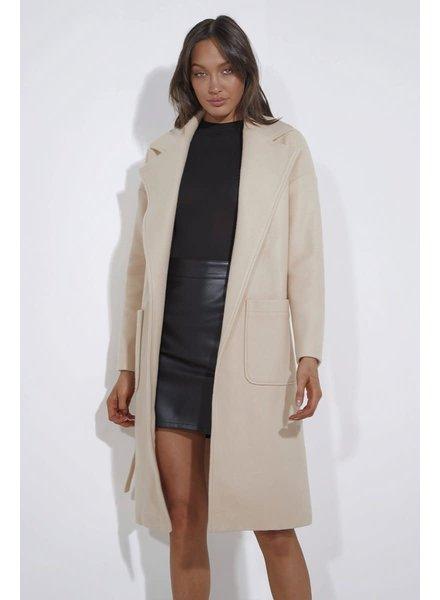 Jackson Coat | Cream