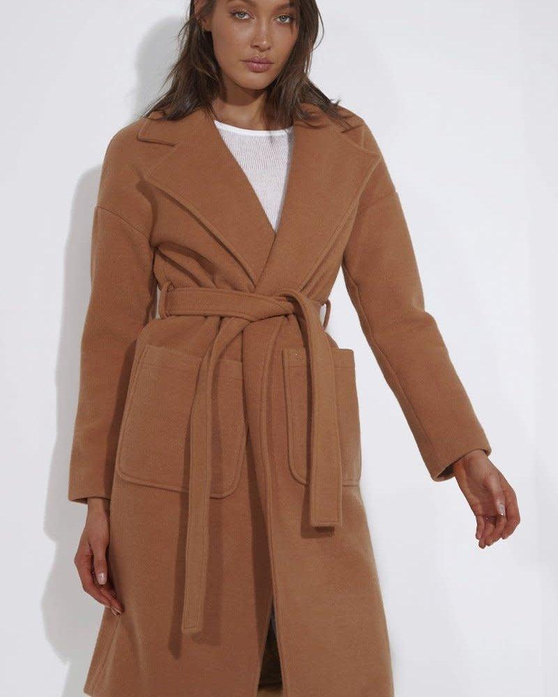 Jackson Coat | Camel