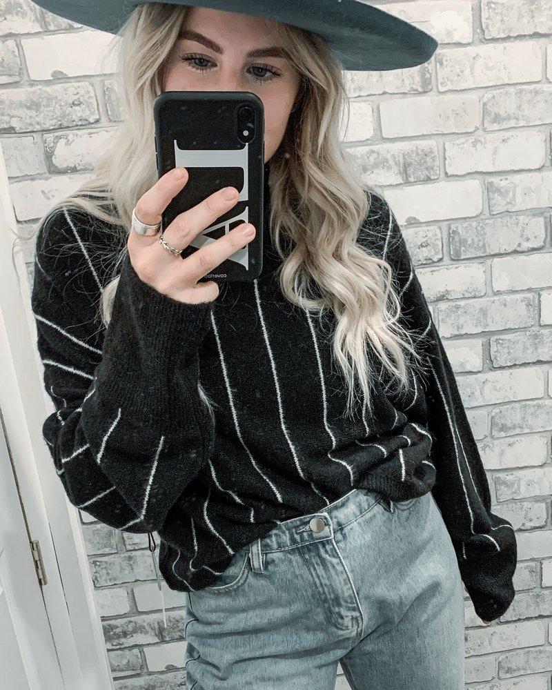 Aline Sweater   Black