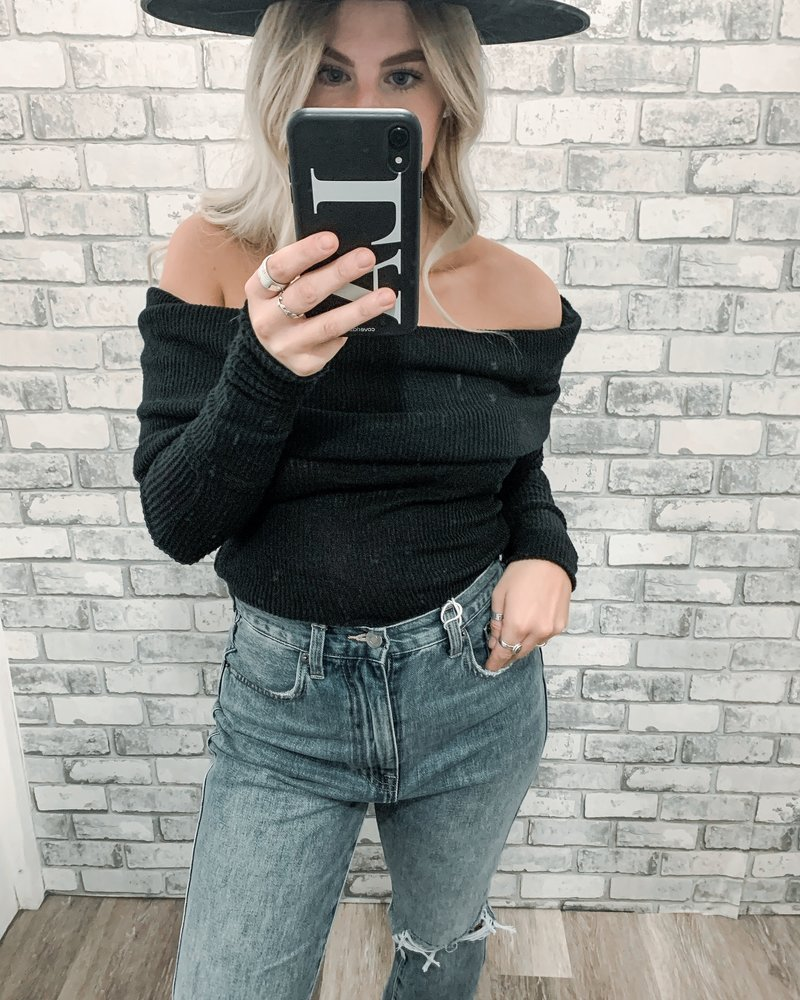 Free People Snow Bunny Long Sleeve