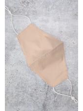 Reusable Solid Face Mask | Beige
