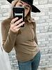 Katie  Long Sleeve Top | Brown