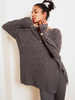 Free People Around The Clock Pullover | Charcoal