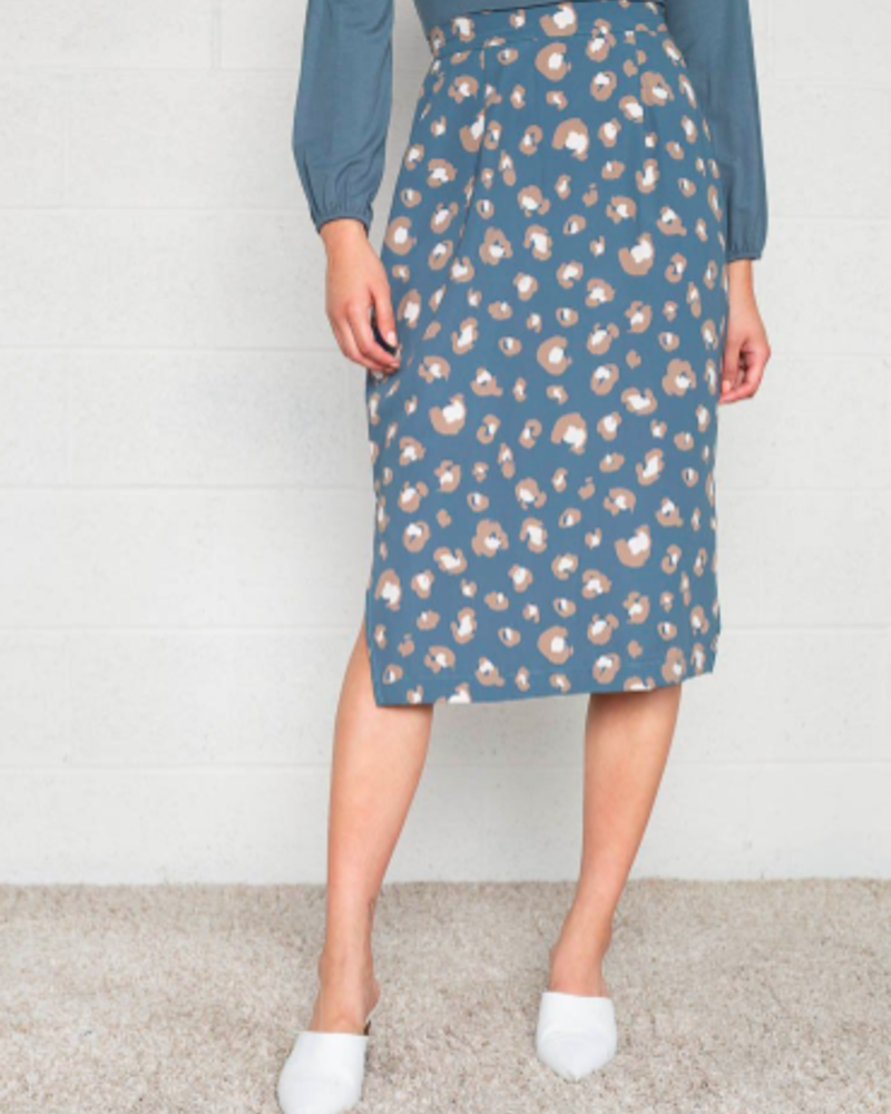 Monica Skirt | Teal