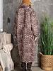 Maxi Puffer Coat | Leopard