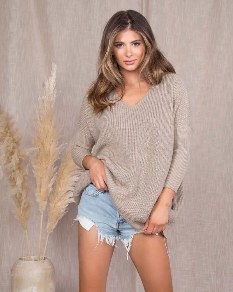 Kerry Dolman V Neck Sweater
