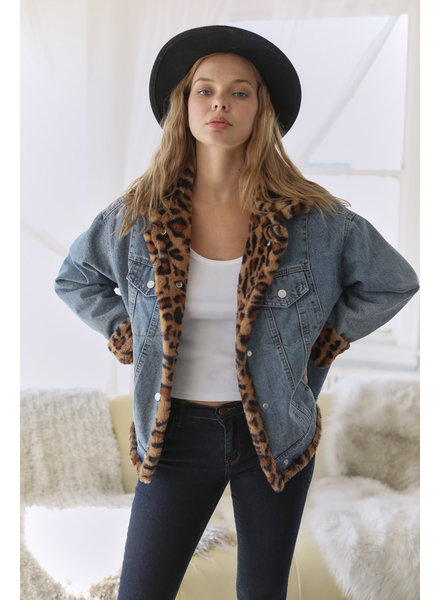 Kinsley Leopard Jacket