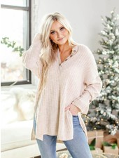 Free People Around The Clock Pullover | Oatmeal