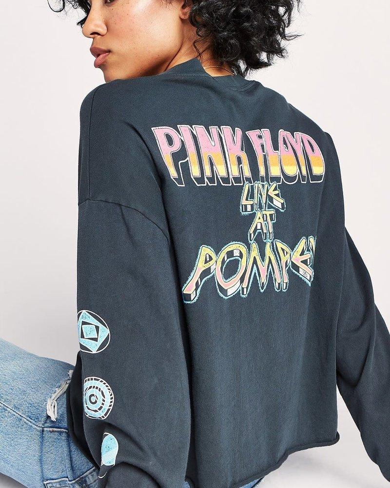 Pink Floyd Pompeii Long Sleeve Crop