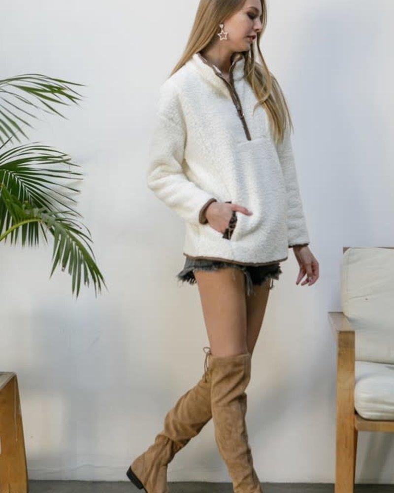 Ellie Leopard Pullover