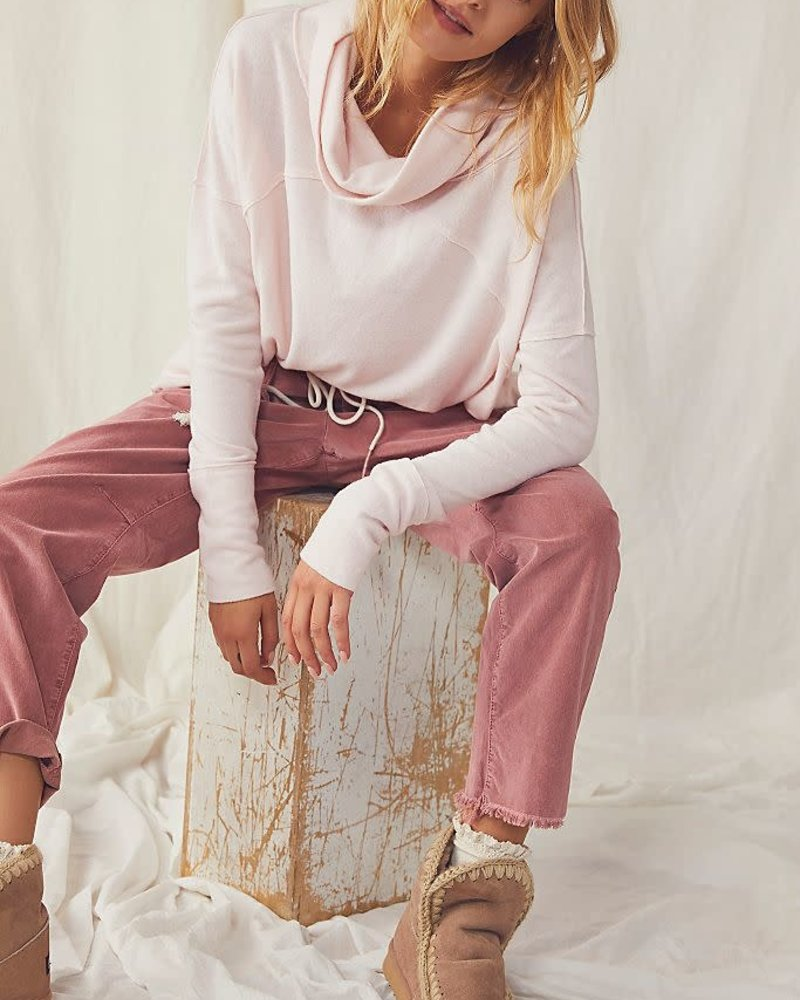 Free People Cozy Time Funnel Top | Au Natural