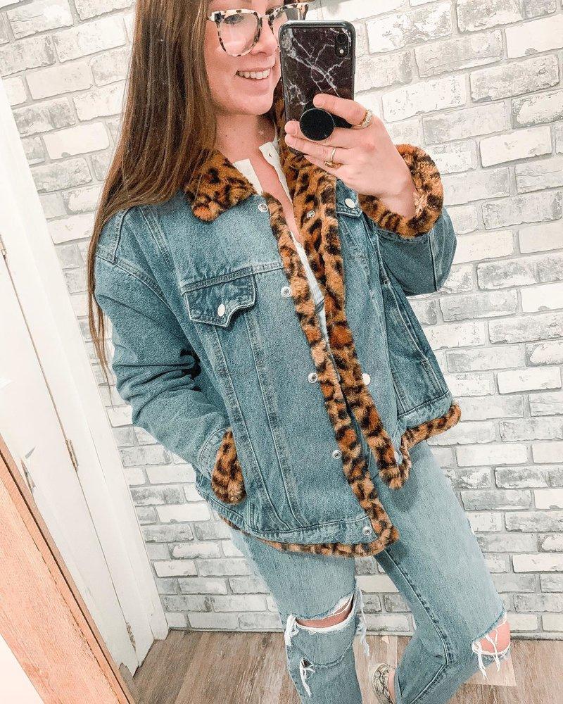 Kinsley Leopard Jacket