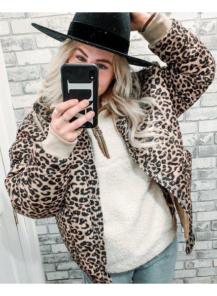 Lilly Leopard Jacket