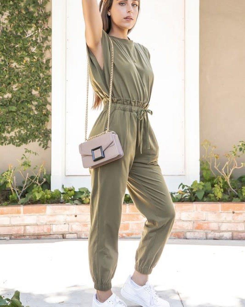 Katrina Jumpsuit | Olive
