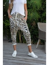 Avery Leopard Jogger