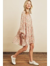 Bianca Blossom Babydoll Swing Dress