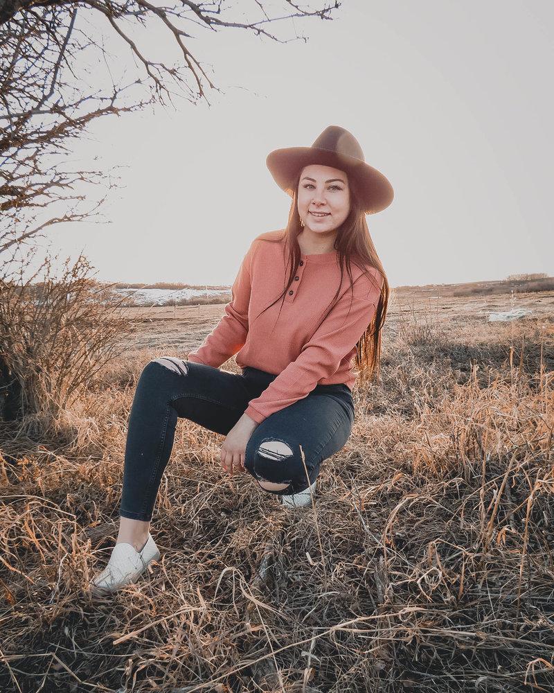 Nellie Top | Burnt Orange