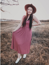 Gracie Dress | Dusty Rose