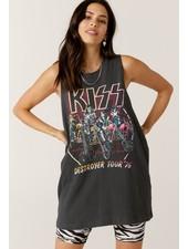 Kiss Bikers Boyfriend Muscle Tank