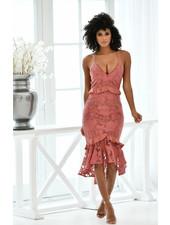 Abby Dress   Mauve