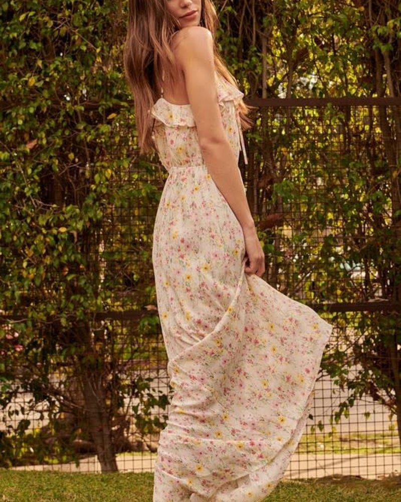 Lindsay Side-Slit Cami Maxi Dress
