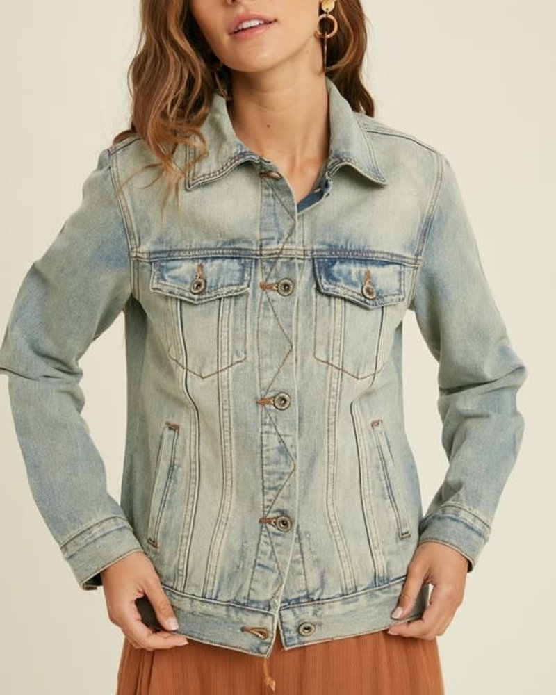 Classic Cleo Denim Jacket