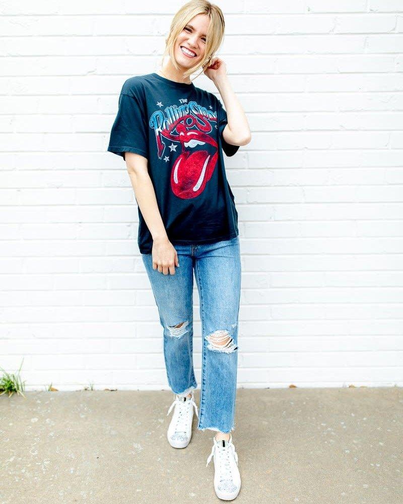 The Rolling Stones 1981 Boyfriend Tee