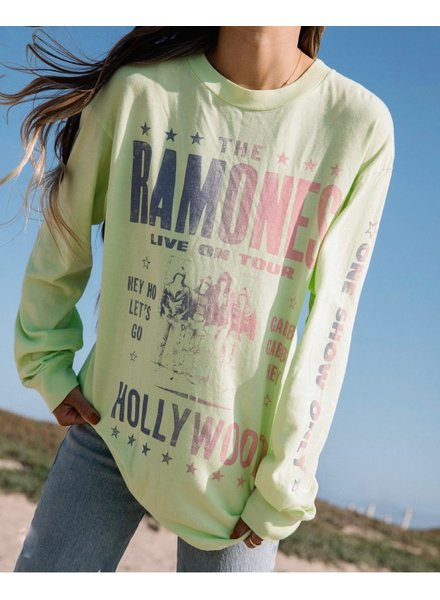 Ramones Hollywood Oversized Long Sleeve