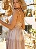 Tessa Woven Tessel Trim Dress
