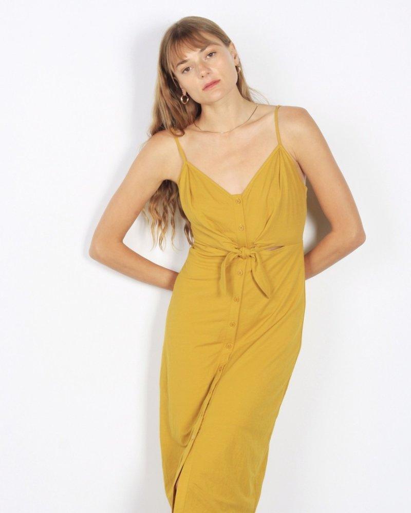 Cara Dress | Mustard