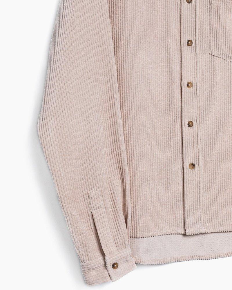 Boyfriend Cole Shirt Shacket | Beige