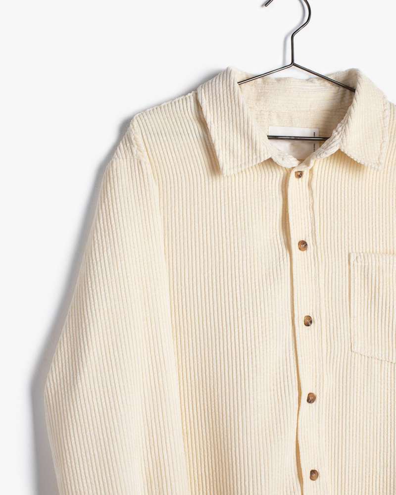 Boyfriend Cole Shirt Shacket | Cream