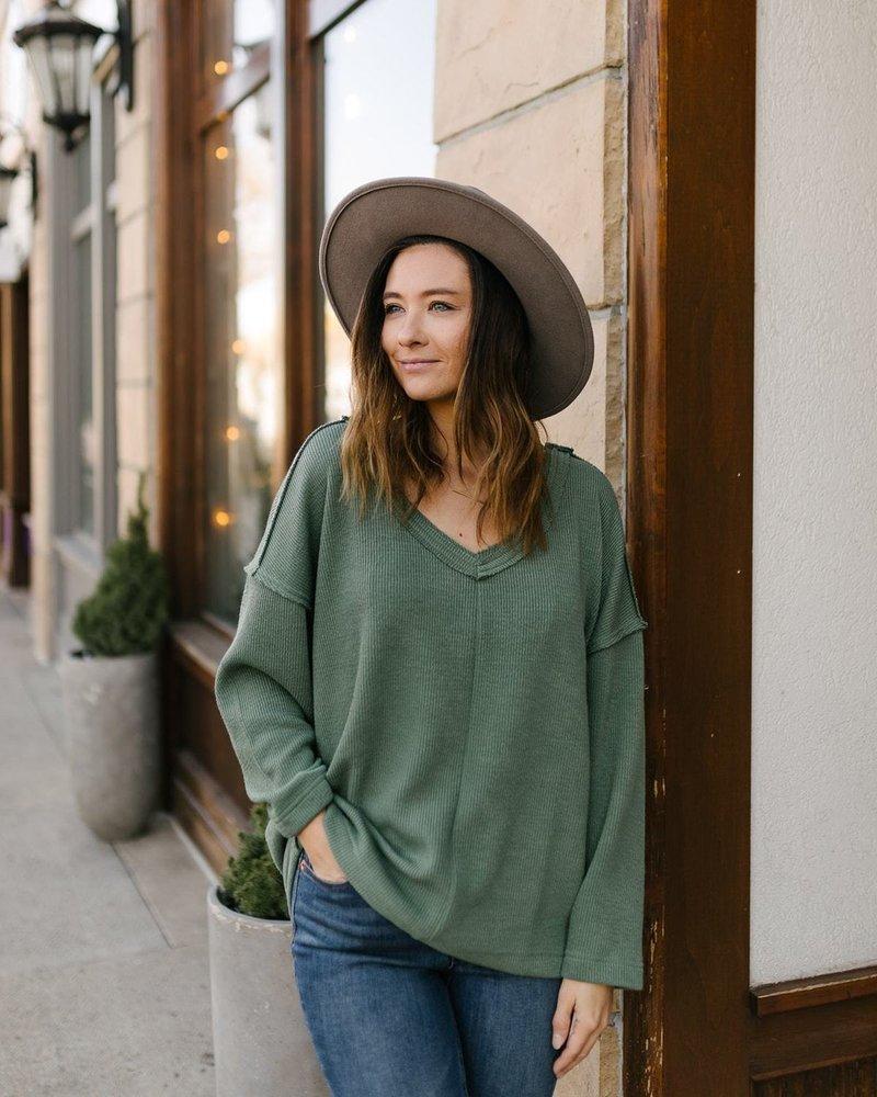 Annie Sweater   Dusty Sage