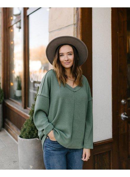 Annie Sweater | Dusty Sage