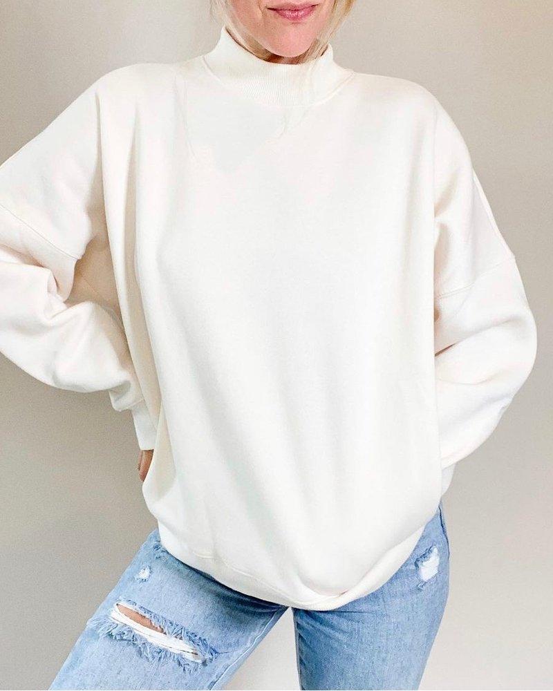 Troy Sweater   Cream